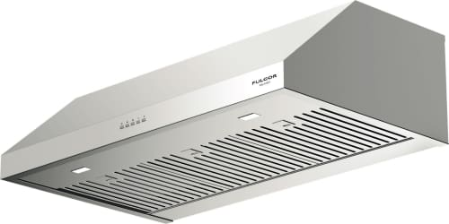 Fulgor Milano F4UC36S1 - 36 Inch Under Cabinet Hood with 450 CFM Internal Blower, Stainless Steel Baffle Filters, Mechanical Controls, 4 Speed Blower Fan, LED Lighting and Recirculating Options