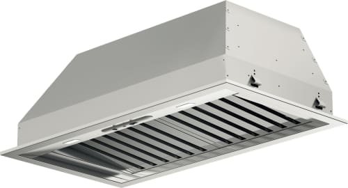 Fulgor Milano F6BP34S1 - 34 Inch Insert with 600 CFM Internal Blower, Stainless Steel Baffle Filters, Mechanical Controls, 4 Speed Blower Fan, LED Lighting and Recirculating Options