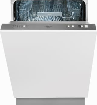 Fulgor Milano F6DW24FI1 - Fully Integrated Panel Ready Dishwasher with 13 Place Setting Capacity and 9 Wash Cycles