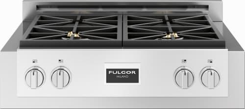 "Fulgor Milano 600 Series F6GRT304S1 - Fulgor Milano 30"" Professional Gas Rangetop"