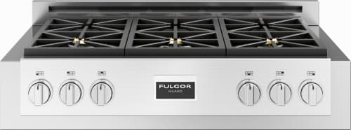 "Fulgor Milano 600 Series F6GRT366S1 - 36"" Professional Gas Range Top"