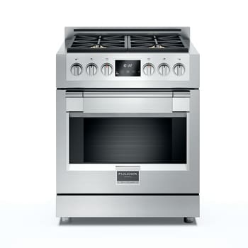 "Fulgor Milano Sofia Series F6PGR304S1 - 30"" Gas Sofia Range with 4 Burners and 4.1 cu. ft. Convection Oven"