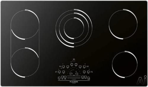 "Fulgor Milano 600 Series F6RT36S1 - 36"" Electric Cooktop"