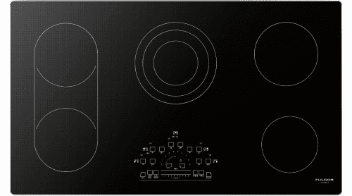 "Fulgor Milano 600 Series F6RT36S2 - 36"" Electric Cooktop with Touch Control"