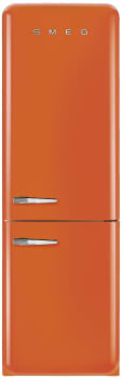 Smeg 50's Retro Design FAB32UORRN - SMEG Retro 50's Style Refrigerator in Orange