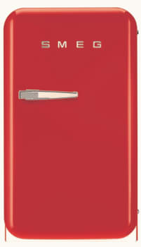 Smeg 50's Retro Design FAB5URR - Red Front View