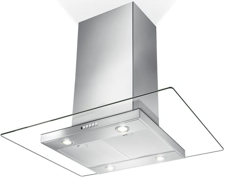 Faber Glassy Isola GLASIS36SS600B - Glassy Isola Island Hood from Faber