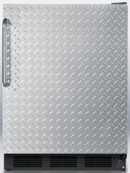 AccuCold FF6BBIDPL - Diamond Plate with Towel Bar Handle