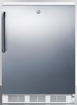 AccuCold FF6L7SSTB - Stainless Door with Pro Handle