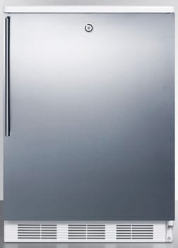 AccuCold FF6LBISSHV - Stainless Door with Vertical Thin Handle