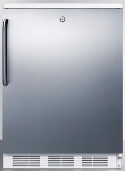 AccuCold FF6LBISSTB - Stainless Door with Pro Handle