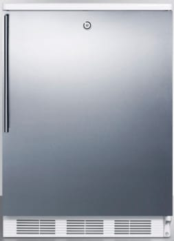AccuCold FF7LBISSHV - Stainless Door with Vertical Thin Handle