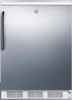 AccuCold FF7LBISSTB - Stainless Door with Pro Handle