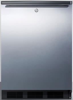 AccuCold FF7LBLBISSHH - Stainless Door with Horizontal Thin Handle