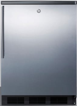 AccuCold FF7LBLBISSHV - Stainless Door with Vertical Thin Handle