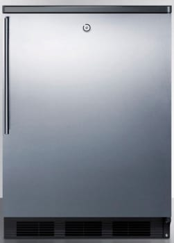 AccuCold FF7LBLSSHV - Stainless Door with Vertical Thin Handle