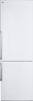 "Summit FFBF240WX - 24"" Bottom Freezer Refrigerator with 9.85 cu. ft. Capacity"
