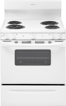 Frigidaire FFEF3010TW - White Front View