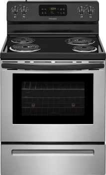 Frigidaire FFEF3016T - Stainless Steel Front View
