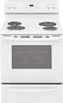 Frigidaire FFEF3016TW - White Front View