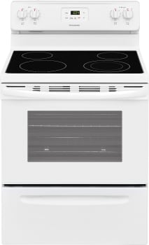 Frigidaire FFEF3051TW - White Front View