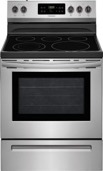 Frigidaire FFEF3054TS - Stainless Steel Front View