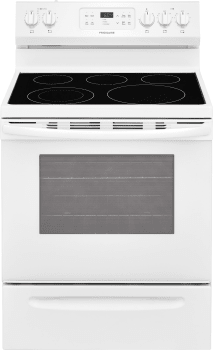 Frigidaire FFEF3054TW - White Front View