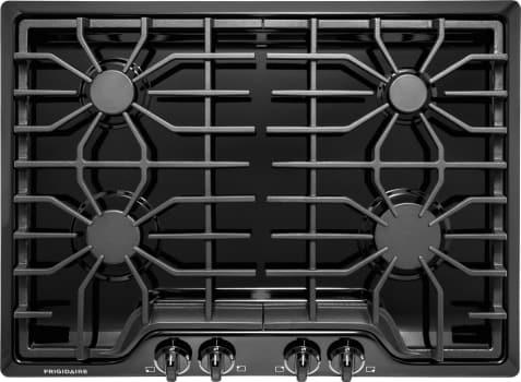 """Frigidaire FFGC3026SB - 30"""" Gas Cooktop in Black"""