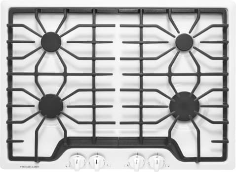 "Frigidaire FFGC3026SW - 30"" Gas Cooktop in White"