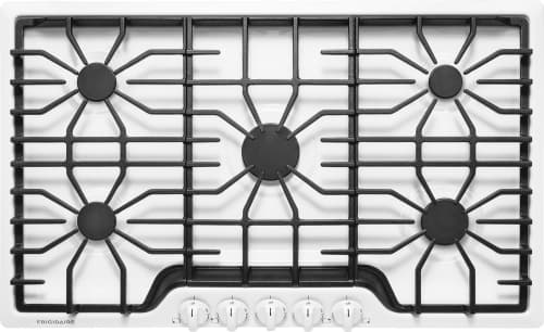 "Frigidaire FFGC3626SW - 36"" Gas Cooktop in White"