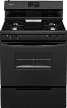 Frigidaire FFGF3012T - Black Front View