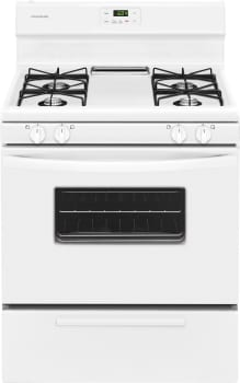 Frigidaire FFGF3012TW - White Front View