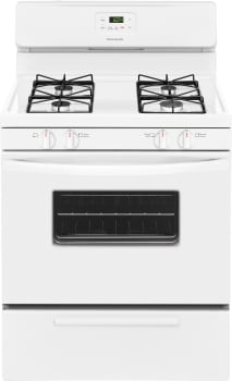 Frigidaire FFGF3016TW - White Front View