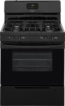 Frigidaire FFGF3051TB - Black Front View