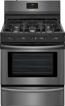 Frigidaire FFGF3052TD - Black Stainless Front View