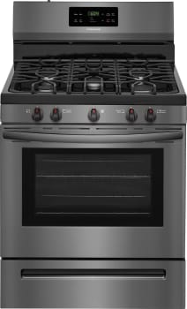 Frigidaire FFGF3054TD - Black Stainless Steel Front View