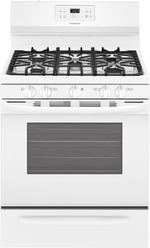 Frigidaire FFGF3054TW - White Front View