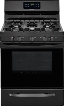 Frigidaire FFGF3056TB - Black Front View