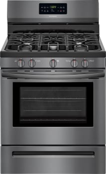 Frigidaire FFGF3056TD - Black Stainless Steel Front