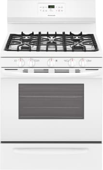 Frigidaire FFGF3056TW - White Front View