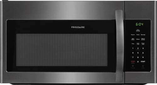 Frigidaire FFMV1645TX - Black Stainless Steel Front View