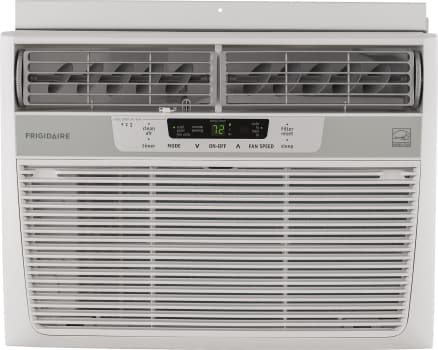 Frigidaire FFRE1033S1 - 10,000 BTU Compact Room Air Conditioner with 285 CFM and 3 Fan Speeds