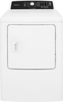 Frigidaire FFRE4120SW - 6.7 cu. ft. Frigidaire Dryer
