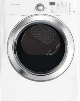 Frigidaire FFSE5115PW - Frigidaire Dryer with Ready Steam