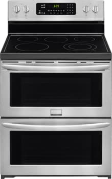Frigidaire Gallery Series FGEF302TPF - Frigidaire Gallery 30'' Freestanding Electric Double Oven Range