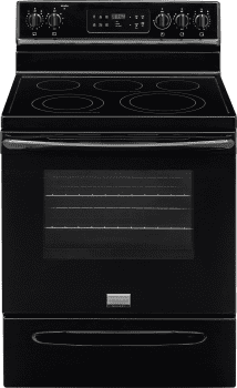 Frigidaire Gallery Series FGEF3035RB - Black