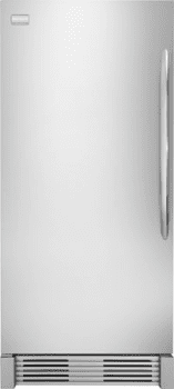 Frigidaire Gallery Series FGFU19F6QF - Frigidaire 18.6 Cu. Ft. Built-In All Freezer with SpaceWise Glass Shelves and Wire Baskets