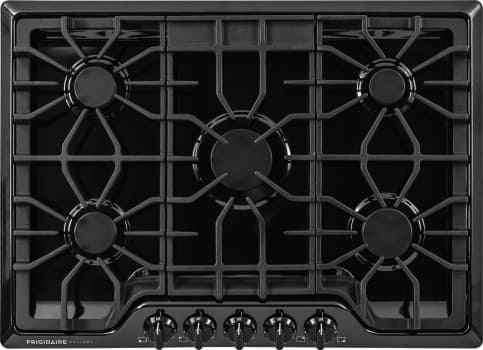 "Frigidaire Gallery Series FGGC3047QB - 30"" Built-In Gas Cooktop in Black"