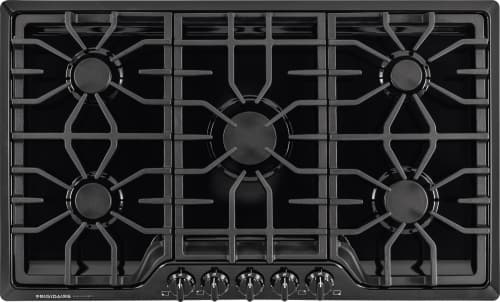 "Frigidaire Gallery Series FGGC3645QB - 36"" Built-In Gas Cooktop in Black"