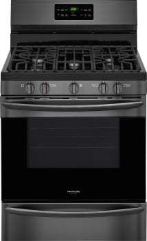 Frigidaire Gallery Series FGGF3036TD - Black Stainless Front View